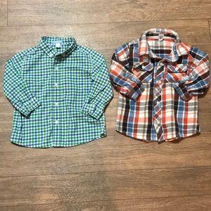 436c9e305 lands end Shirts & Tops | Fleece Lined Flannel Shirt | Poshmark
